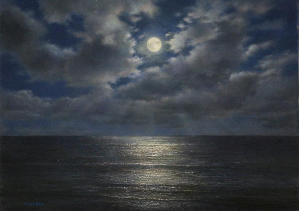 橋本直行|新潟の画家|月の海