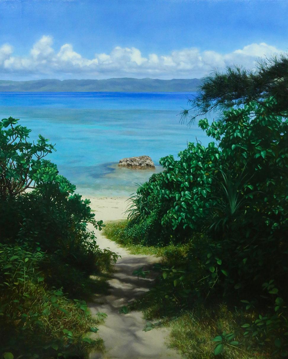 新潟の画家 橋本直行 海への径